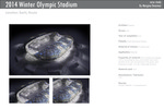 2014 Winter Olympic Stadium by Populous