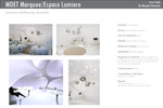 MOET Marquee / Espace Lumiere