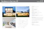 Residence in Garrison, NY