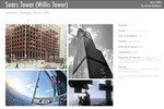 Sears Tower (Willis Tower) in Chicago, Illinois by SOM