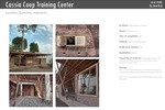 Cassia Coop Training canter by TYIN tegnestue Architects
