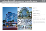 Anaheim Regional Transportation Intermodal Center case study By