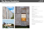 The Barnes Foundation by Todd Williams and Billie Tsien