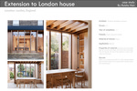 Extension to London house