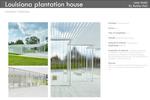 Louisiana plantation house