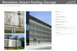 Barcelona Airport Parking Garage