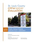 Public School District: Baseline Policy Assessment