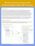 MFH TPCI Report Brief 2: Summary of Evaluation 2007