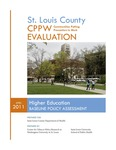 Higher Education: Baseline Policy Assessment