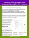 MFH TPCI Evaluation Report Brief 1: Summary of Evaluation 2005-2006