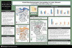 Flood Plain Demographics Surrounding St. Louis, Missouri
