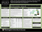 A Walk in the Park: Extent and Distribution of the Parks and Recreation Facilities Supported by the Municipal Park Grant Commission of St. Louis County
