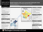 Spatial Analysis of St. Louis County 2013 Chlamydia Cases Identifying Neighborhood for Priority Resource Allocation