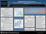 Mapping Missouri Dental Access: GIS Analysis of Drive-Time to Dental Offices in Missouri and St. Louis Area