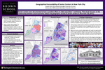 Geographical Accessibility of Senior Centers in New York City