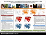 Geographic Disparities in Science Achievement and Opportunities for Employment in STEM