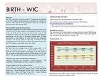 Birth-WIC
