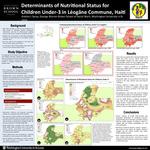 Determinants of Nutritional Status for Children Under-3 in Léogâne Commune, Haiti
