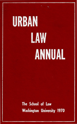Urban Law Annual