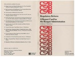 Regulatory Reform: A Report Card for the Reagan Administration